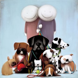 Love Comes in All Shapes and Sizes by Doug Hyde - Limited Edition on Paper sized 24x24 inches. Available from Whitewall Galleries