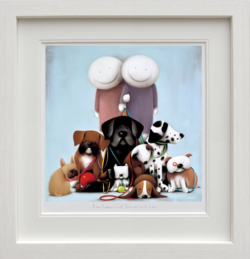 Love Comes in All Shapes and Sizes by Doug Hyde - Framed Limited Edition on Paper