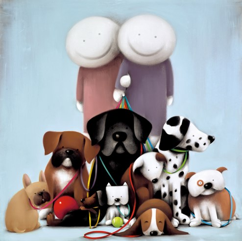 Love Comes in All Shapes and Sizes by Doug Hyde - Limited Edition on Paper